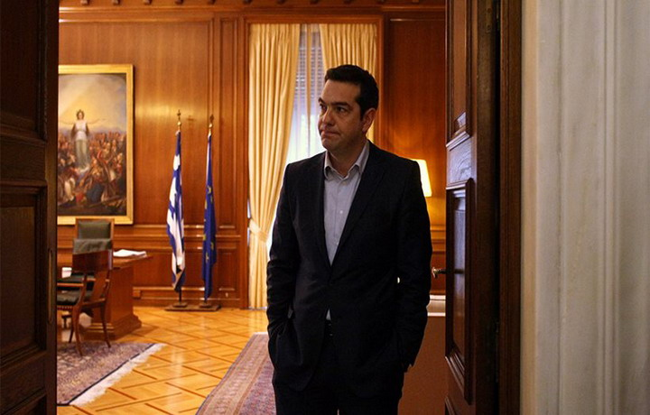 tsipras megaro
